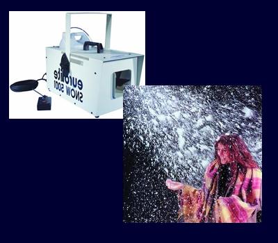 5 Liter Kanister >> Planet Showtechnik - Spezial Geräte - Schnee Maschine (Schaum Flocken)